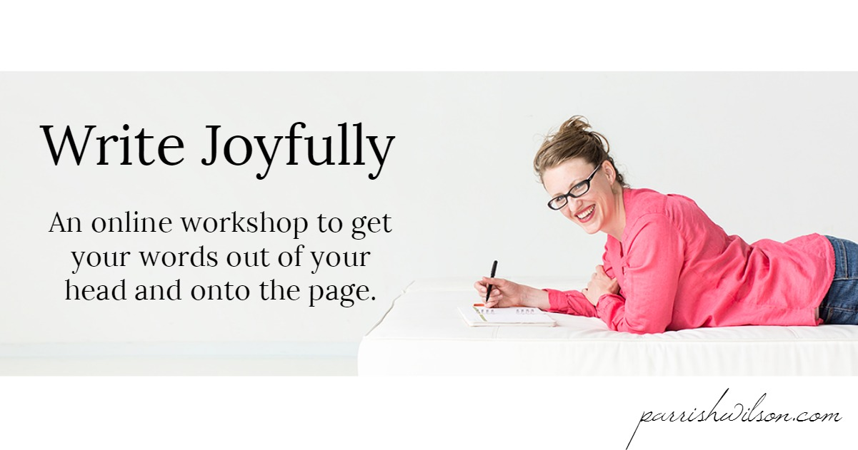 Write Joyfully